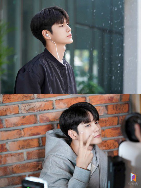'More Than Friends' Ong Seong-woo, poster shoot shows playful charm + heartbeat eyes